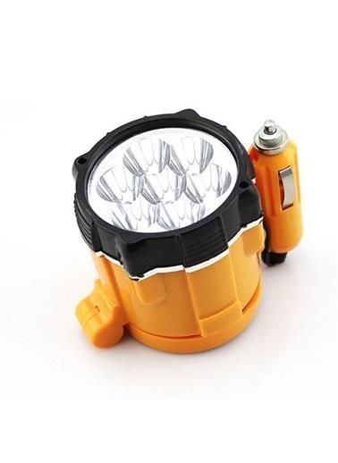Techmaster Techmaster 12v AraÇ Mıknatıslı Mini Işıldak Spot Renkli